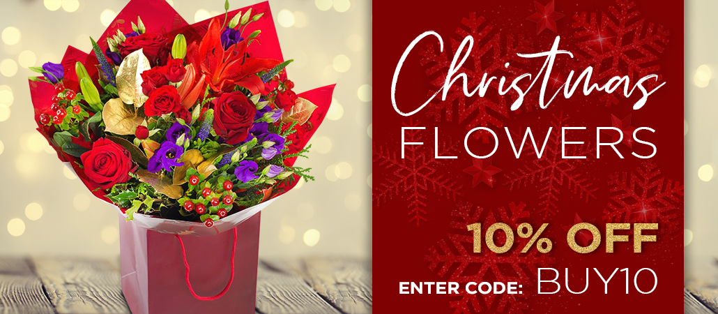 Christmas Flowers-10% Off Enter code BUY10
