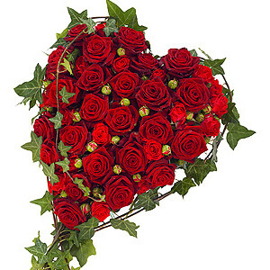 Funeral Heart Wreath