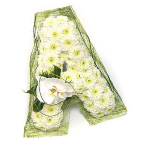 Floral Letters & Special Funeral Tributes